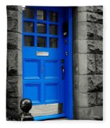 Blue Door Fleece Blanket