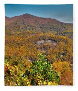 Blue Ridge Parkway Fleece Blanket