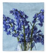 Bluebells 1 Fleece Blanket
