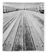 Boardwalk Of Distance Fleece Blanket