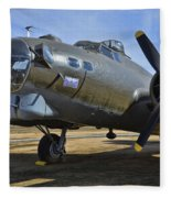 Boeing B-17g Flying Fortress Fleece Blanket