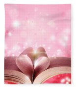 Book Love Fleece Blanket