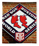 Boston Red Sox 1912 World Champions Fleece Blanket