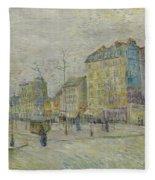 Boulevard De Clichy Fleece Blanket