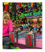Bowler Roller Fleece Blanket