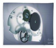 Brain Mechanism Fleece Blanket