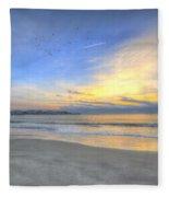 Breach Inlet Sunrise Fleece Blanket