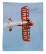 Breitling Wingwalkers Team Fleece Blanket
