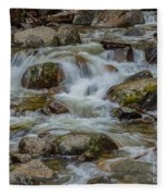 Bridalveil Creek Yosemite Fleece Blanket