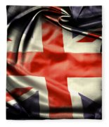 British Flag 10  Fleece Blanket