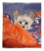 Bronco Maggie Fleece Blanket
