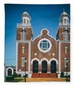 Brown Chapel In Selma Alabama Fleece Blanket
