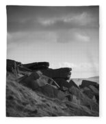 Buckstone Edge Fleece Blanket
