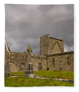Burrishoole Friary, Ireland Fleece Blanket