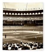 Busch Stadium - St Louis 1966 Fleece Blanket