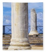 Caesarea Maritima Fleece Blanket