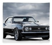 Camaro Ss Fleece Blanket