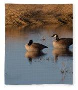 Canada Geese Fleece Blanket