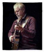 Canadian Folk Rocker Bruce Cockburn Fleece Blanket