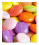 Candy Background Fleece Blanket