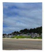 Cannon Beach North Fleece Blanket