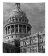 Capitol At Dawn Fleece Blanket