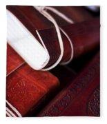 Captains Log Books Fleece Blanket