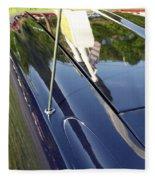 Car Reflection Fleece Blanket