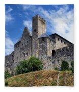 Carcassonne By Day Fleece Blanket