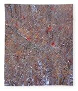 Cardinals Galore Fleece Blanket