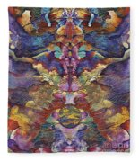 Carnaval Fleece Blanket