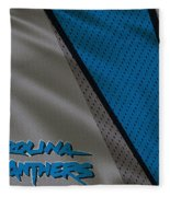 Carolina Panthers Uniform Fleece Blanket