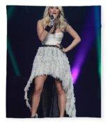 Singer Carrie Underwood Fleece Blanket