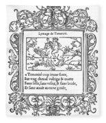 Cartouche, 1543 Fleece Blanket