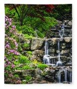 Cascading Waterfall Fleece Blanket