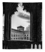 Castello Visconteo Fleece Blanket