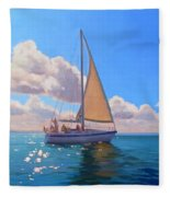 Catching The Wind Fleece Blanket