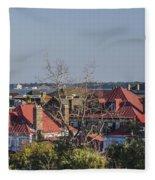 Charleston Rooftops Fleece Blanket