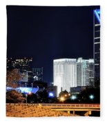 Charlotte Towers Fleece Blanket