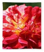 Cherry Petals Fleece Blanket