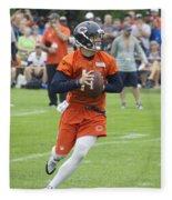 Chicago Bears Qb David Foles Training Camp 2014 05 Fleece Blanket