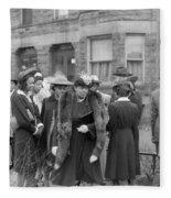 Chicago Easter, 1941 Fleece Blanket