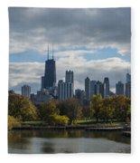 Chicago Lincoln Park Fleece Blanket