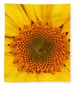 Chipmunk's Peredovik Sunflower Fleece Blanket