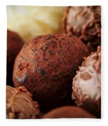 Chocolate Truffles Fleece Blanket