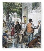 Cholera Epidemic, 1873 Fleece Blanket