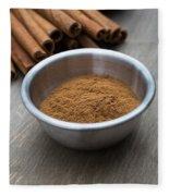 Cinnamon Spice Fleece Blanket
