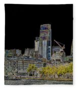 City Of London Art Fleece Blanket