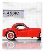 Classic Car Fleece Blanket