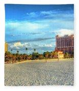 Clearwater Beach Fleece Blanket